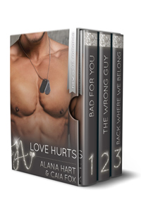 Love Hurts boxed set cover